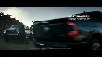 Ram Trucks Employee Pricing Plus TV Spot, 'Lead From Within' Song by Kingdom 2 [T2] - Thumbnail 5