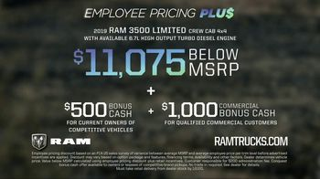 Ram Trucks Employee Pricing Plus TV Spot, 'Lead From Within' Song by Kingdom 2 [T2] - Thumbnail 8