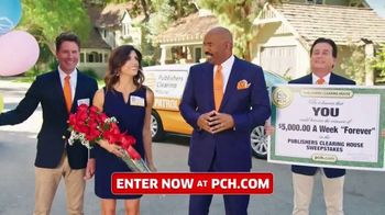 Publishers Clearing House TV Spot, '$5,000 a Week: It's Like That' Featuring Steve Harvey - 204 commercial airings