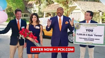 Publishers Clearing House TV Spot, '$5,000 a Week: It's Like That' Featuring Steve Harvey - Thumbnail 6
