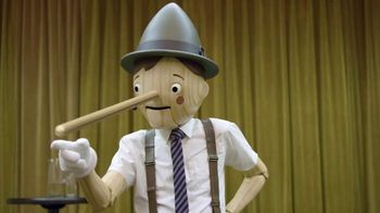 GEICO TV Spot, \'Pinocchio Was a Bad Motivational Speaker\'