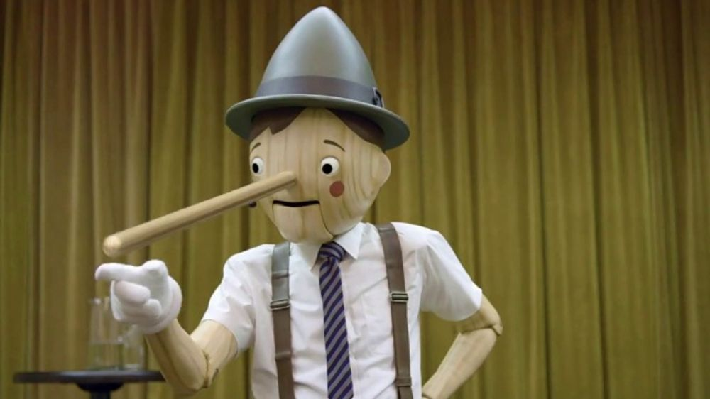 Image result for geico pinocchio commercial