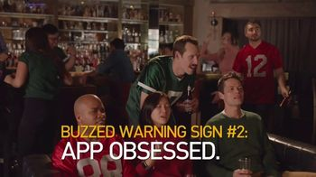 NHTSA TV Spot, 'Buzzed Warning Sign: App Obsessed'
