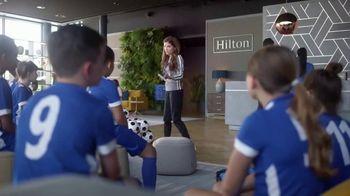 Hilton Hotels Worldwide App TV Spot, 'Soccer Team' Featuring Anna Kendrick - Thumbnail 2