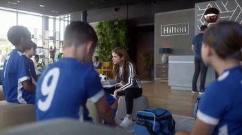 Hilton Hotels Worldwide App TV Spot, 'Soccer Team' Featuring Anna Kendrick - Thumbnail 7