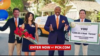 Publishers Clearing House TV Spot, '$5,000 a Week: That's Right Todd' Featuring Steve Harvey - Thumbnail 1