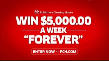 Publishers Clearing House TV Spot, '$5,000 a Week: That's Right Todd' Featuring Steve Harvey - Thumbnail 8