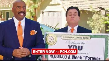 Publishers Clearing House TV Spot, '$5,000 a Week: That's Right Todd' Featuring Steve Harvey - Thumbnail 3