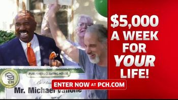 Publishers Clearing House TV Spot, '$5,000 a Week: That's Right Todd' Featuring Steve Harvey - Thumbnail 4