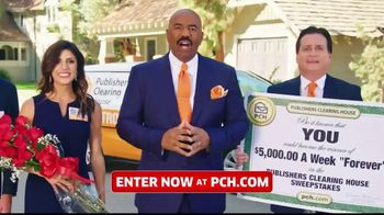 Publishers Clearing House TV Spot, '$5,000 a Week: That's Right Todd' Featuring Steve Harvey - Thumbnail 5