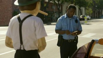 GEICO TV Spot, 'Pinocchio Sequel: Parking' - 5919 commercial airings