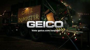 GEICO TV Spot, 'Raccoons Sequel: Food Truck' - Thumbnail 9