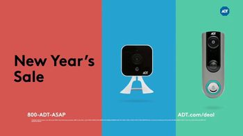 ADT New Year's Sale TV Spot, 'Extended'