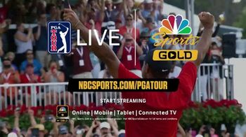 NBC Sports Gold Annual Pass TV Spot, 'PGA Tour Live: Free Month' - Thumbnail 8