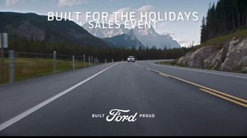 Ford Built for the Holidays Sales Event TV Spot, 'Completely Re-Imagined' [T2] - Thumbnail 6