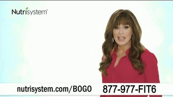 Nutrisystem BOGO Sale TV Spot, 'Personal Plans Designed for You: One Month Free' - 1335 commercial airings
