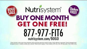 Nutrisystem BOGO Sale TV Spot, 'Personal Plans Designed for You: One Month Free' - Thumbnail 10