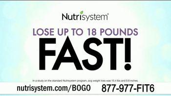 Nutrisystem BOGO Sale TV Spot, 'Personal Plans Designed for You: One Month Free'