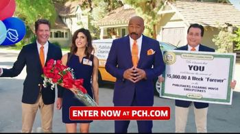Publishers Clearing House TV Spot, '$5,000 a Week: Start the New Year Really Rich' Ft. Steve Harvey - 224 commercial airings