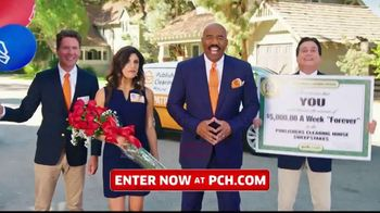 Publishers Clearing House TV Spot, '$5,000 a Week: Start the New Year Really Rich' Ft. Steve Harvey - Thumbnail 1