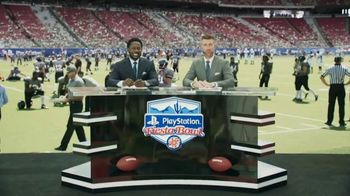 PlayStation TV Spot, '2019 Fiesta Bowl: Nitro-Fueled Kart' Featuring Desmond Howard, Marty Smith - Thumbnail 2