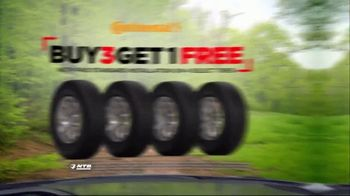 National Tire & Battery TV Spot, 'Buy Three Get One Free: Continental'