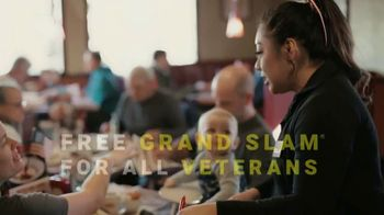 Denny's Build Your Own Grand Slam TV Spot, 'Denny's Thanks Veterans With a Free Grand Slam' - Thumbnail 8