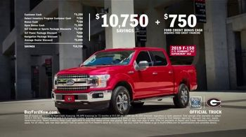 Ford F-150 TV Spot, 'University of Georgia' Featuring Kirby Smart [T2] - Thumbnail 9