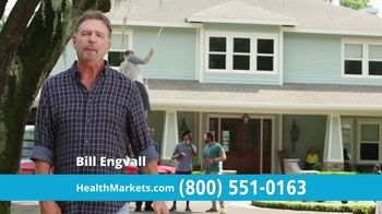 HealthMarkets Insurance Agency FitScore TV Spot, 'Days Away' Featuring Bill Engvall - 452 commercial airings