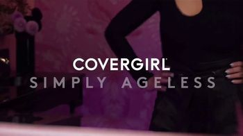 CoverGirl + Olay Simply Ageless Foundation TV Spot, 'What Age' Featuring Maye Musk - Thumbnail 3