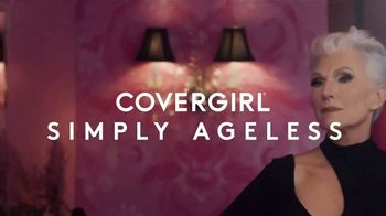CoverGirl + Olay Simply Ageless Foundation TV Spot, 'What Age' Featuring Maye Musk - Thumbnail 4