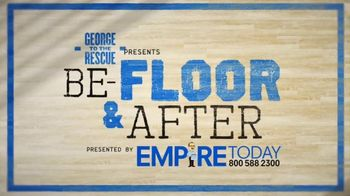 Empire Today TV Spot, 'NBC: Be-Floor & After' - Thumbnail 1