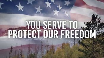 Bass Pro Shops Military Appreciation Discount TV Spot, 'We Salute You'