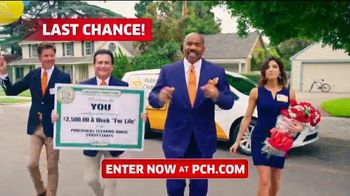 Publishers Clearing House TV Spot, '$2,500 a Week: Last Chance' Featuring Steve Harvey - Thumbnail 1