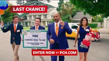 Publishers Clearing House TV Spot, '$2,500 a Week: Last Chance' Featuring Steve Harvey - Thumbnail 2