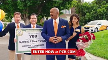 Publishers Clearing House TV Spot, '$2,500 a Week: Last Chance' Featuring Steve Harvey - Thumbnail 5