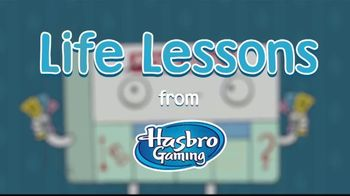 Hasbro Gaming TV Spot, 'Life Lessons' - Thumbnail 1