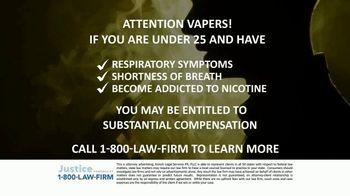 Kresch Legal Services TV Spot, 'Attention Vapers' - Thumbnail 3