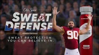 Old Spice Sweat Defense TV Spot, 'Right for Old Spice?' Featuring Montez Sweat - 906 commercial airings