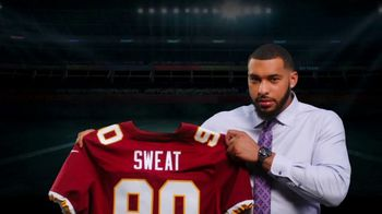 Old Spice Sweat Defense TV Spot, 'Right for Old Spice?' Featuring Montez Sweat - Thumbnail 1