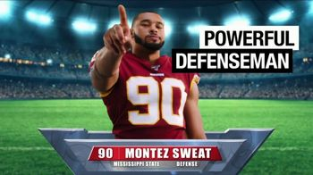 Old Spice Sweat Defense TV Spot, 'Right for Old Spice?' Featuring Montez Sweat - Thumbnail 4