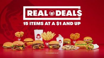 Wendy's Real Deals Value Menu TV Spot, 'For All Your Cravings' - Thumbnail 1