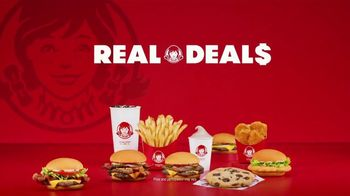 Wendy's Real Deals Value Menu TV Spot, 'For All Your Cravings' - Thumbnail 6
