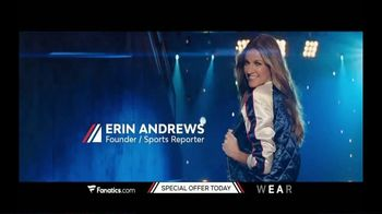 Fanatics.com Wear by Erin Andrews TV Spot, \'Fashion Forward\'