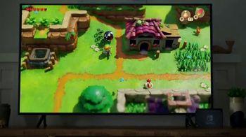 Nintendo Switch TV Spot, 'Switch My Way: The Legend of Zelda: Link's Awakening & Luigi's Mansion 3' - Thumbnail 5