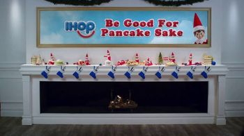 IHOP Elf on the Shelf Menu TV Spot, 'Straight From the North Pole' - Thumbnail 10
