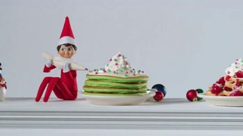 IHOP Elf on the Shelf Menu TV Spot, 'Straight From the North Pole' - Thumbnail 3