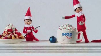 IHOP Elf on the Shelf Menu TV Spot, 'Straight From the North Pole' - Thumbnail 5