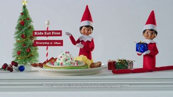 IHOP Elf on the Shelf Menu TV Spot, 'Straight From the North Pole'