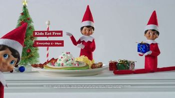 IHOP Elf on the Shelf Menu TV Spot, 'Straight From the North Pole' - Thumbnail 9